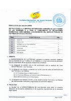 RESOLUCION SIE-045-2016-MEMI INSTRUCCIONES CLFLT CUMPLIMIENTO NORMATIVA