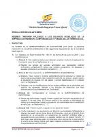RESOLUCION SIE-046-2015-MEMI REGIMEN TARIFARIO USUARIOS REGULADOS CIA LUZ Y FUERZA LAS TERRENAS