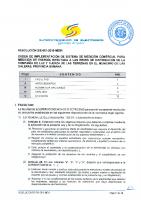 RESOLUCION SIE-061-2016-MEMI – ORDEN IMPLEM SMC REDES CLFLT EN GALERAS