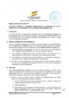 RESOLUCION SIE-062-2015-TF FIJACION TARIFAS USUARIOS CLFLT NOV 2015