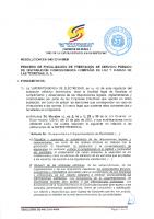 Resolucion SIE-040-2014